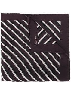 полосатый нагрудный платок Tom Ford