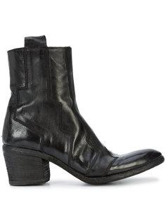 ботинки с декоративной строчкой Fauzian Jeunesse