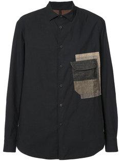 рубашка с накладным карманом Ziggy Chen