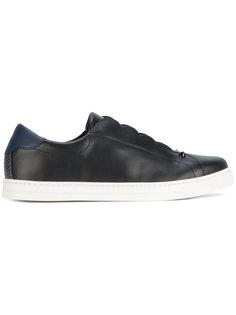 кроссовки с трикотажной вставкой Fendi