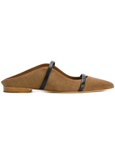 pointed toe slippers Malone Souliers