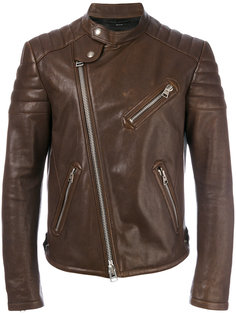 байкерская куртка с воротником-стойкой Tom Ford