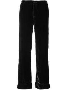 velvet look trousers F.R.S For Restless Sleepers