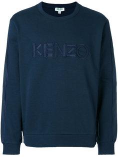 пуловер джерси с круглым вырезом Kenzo