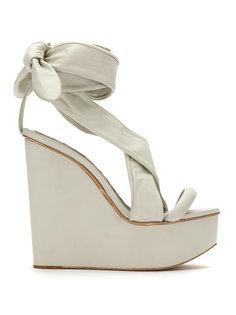 leather platform sandals Andrea Bogosian