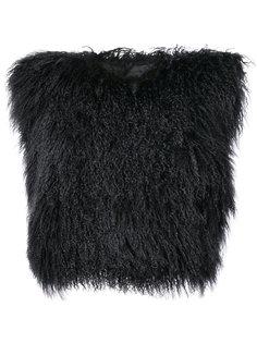 меховая куртка Ann Demeulemeester