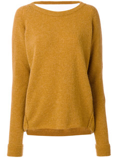 свитер с открытой спиной  Humanoid