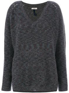 свитер с V-образным вырезом  Humanoid