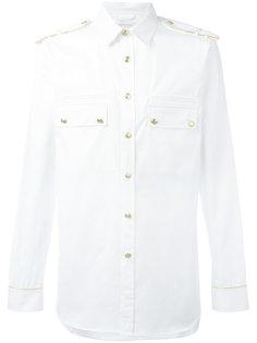 рубашка в стиле милитари Pierre Balmain