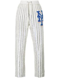 спортивные брюки с пайетками Ashish