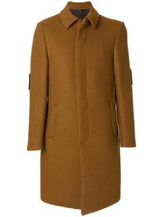 пальто Bag Bugs на пуговицах Fendi