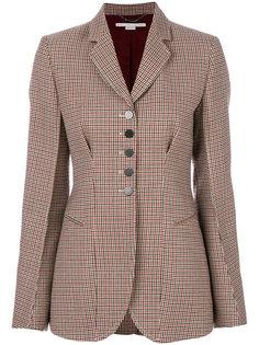 пиджак в клетку Stella McCartney