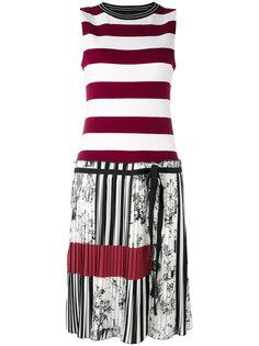 полосатое платье IM Isola Marras