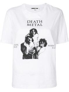 футболка с принтом Death Metal McQ Alexander McQueen
