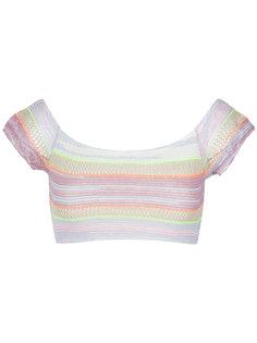 knit crop top Cecilia Prado
