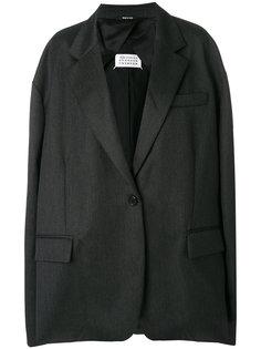 пальто свободного кроя Maison Margiela