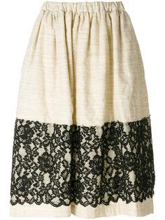 юбка с кружевной панелью Comme Des Garçons Comme Des Garçons