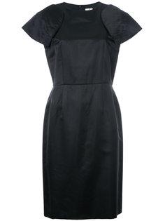 платье шифт с плечиками Comme Des Garçons