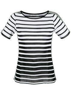 knit striped top Cecilia Prado
