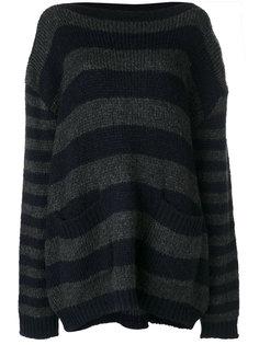 свободный свитер в полоску  Faith Connexion