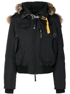куртка-бомбер с меховой отделкой  Parajumpers