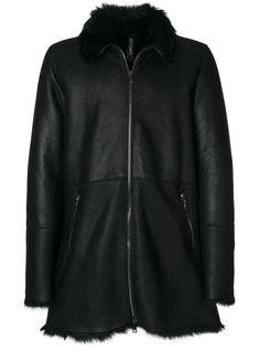 shearling trim jacket Giorgio Brato