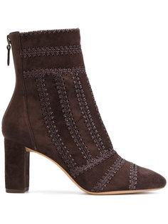 embroidered seam boots Alexandre Birman
