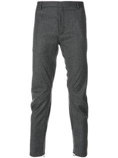 брюки со сборками Lanvin