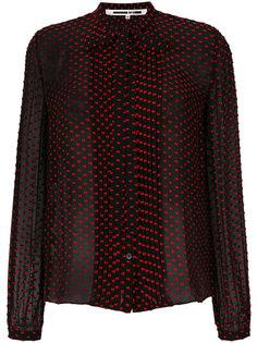 блузка со складками  McQ Alexander McQueen