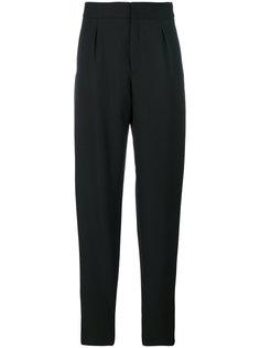 зауженные брюки с завышенной талией  Saint Laurent