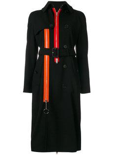 пальто-тренч с молнией  Givenchy