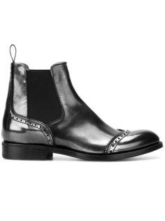ботинки Челси с дизайном брог Churchs