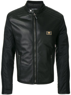 куртка с бляшкой-логотипом Dolce & Gabbana
