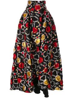 пышная юбка с узором  Ultràchic