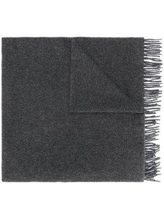 трикотажный шарф с бахромой A.P.C.
