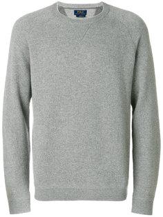 ribbed trim sweatshirt  Polo Ralph Lauren