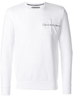 толстовка с вышивкой логотипа Ck Jeans