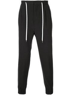 спортивные брюки с эластичным поясом monkey time