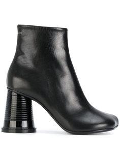 ботинки на каблуке в форме пластикового стаканчика Mm6 Maison Margiela