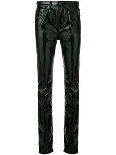 брюки с классической талией  Saint Laurent