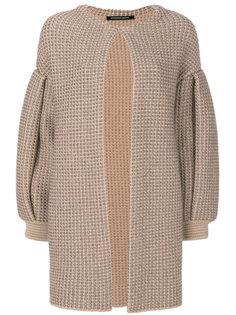 пальто с драпировкой  Antonino Valenti