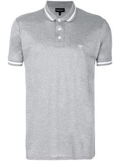 футболка-поло с логотипом Emporio Armani