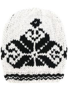 трикотажная шапка с вышивкой Antonia Zander