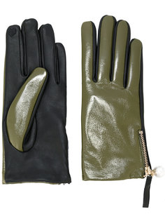 перчатки с молниями Twin-Set