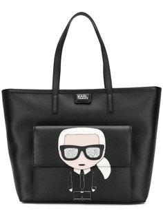 сумка-шоппер K/Ikonik Karl Lagerfeld