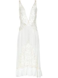 lace midi gown Martha Medeiros