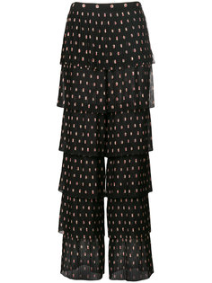 layered patterned trousers Vilshenko