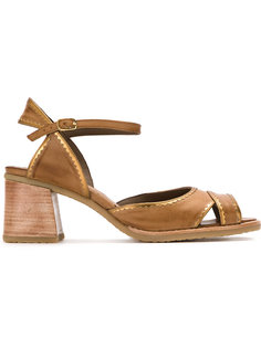panelled sandals Sarah Chofakian