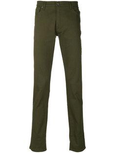 брюки прямого кроя Moschino