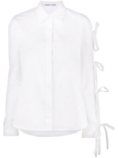 Noah long sleeve bow shirt Sandy Liang